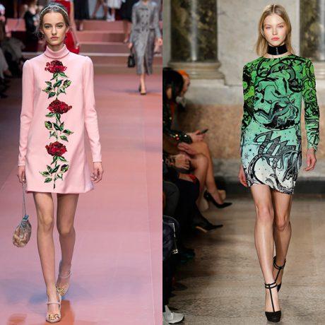 Модные платья 2016 — фото обзор трендов и тенденций