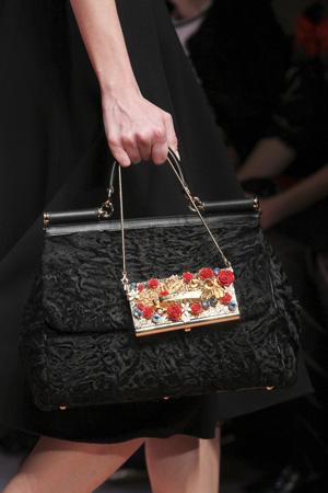 фото модных сумок осень зима 2015-2016 от Dolce & Gabbana