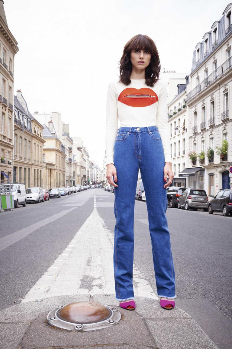 Модные джинсы 2016 с завышенной талией – фото коллекции Sonia by Sonia Rykiel
