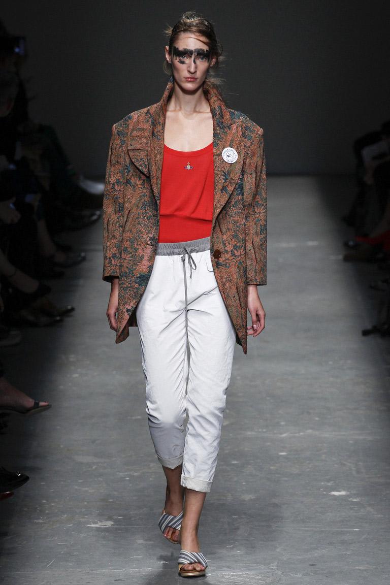 Женский костюм в мужском стиле – тренды моды 2016 года – фото коллекции Koché