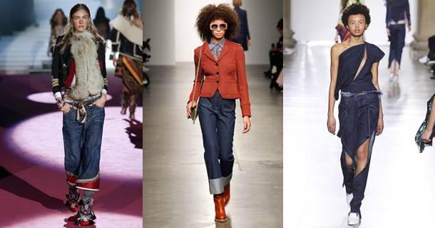 Модные Джинсы Зима 2015 Женские