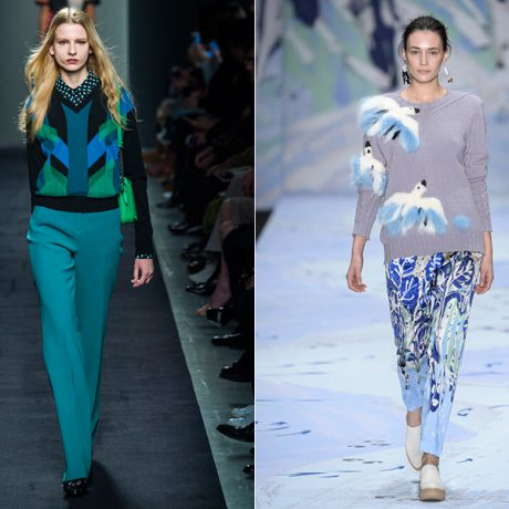 Модные кофты 2017: яркие кофты для серых будней
