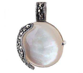 Камень перламутр – фото украшений с перламутром