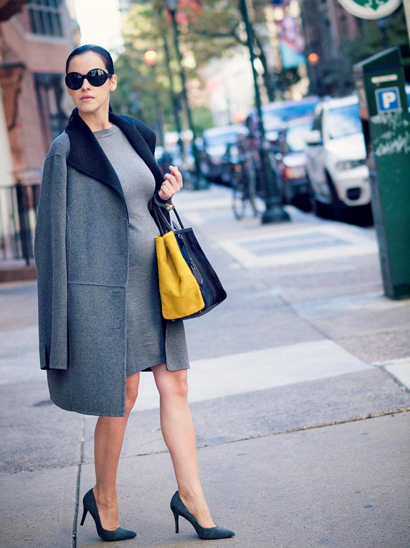 Модный фасон платья для беременных на каждый день – фото новинки сезона