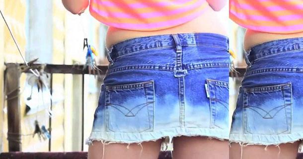 Как юбки сделать шорты
