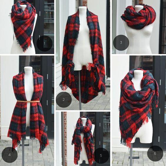 Как завязать шарф на пальто? 25 свежих идей