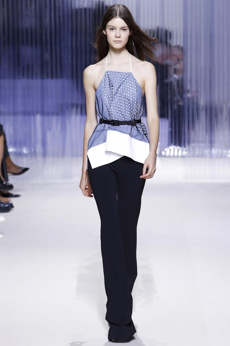 Carven весна-лето 2016 - неделя моды в Париже 2016