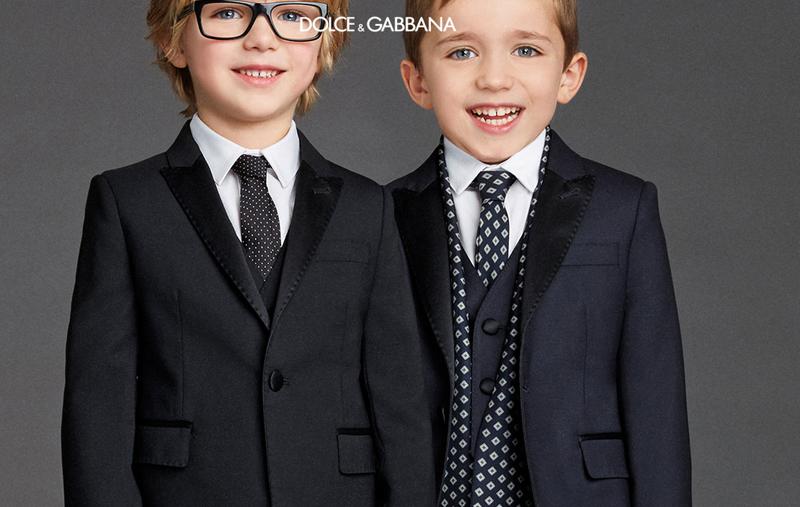Dolce & Gabbana 2016 для мальчиков