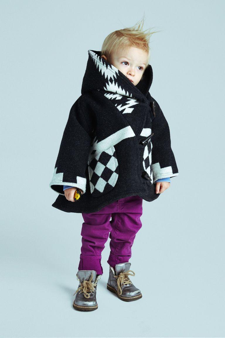 Модное детское пончо 2016 с капюшоном – фото Lindsey Thornburg