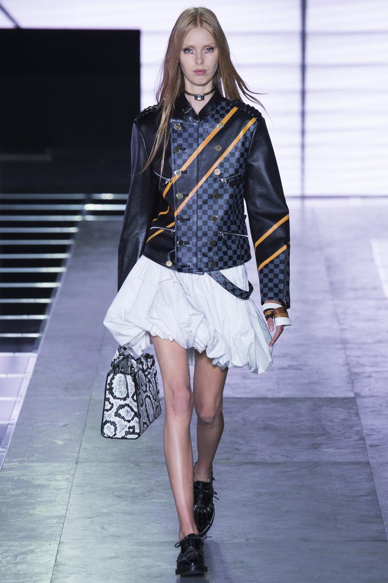 Модная кожаная куртка 2016 – коллекция Louis Vuitton