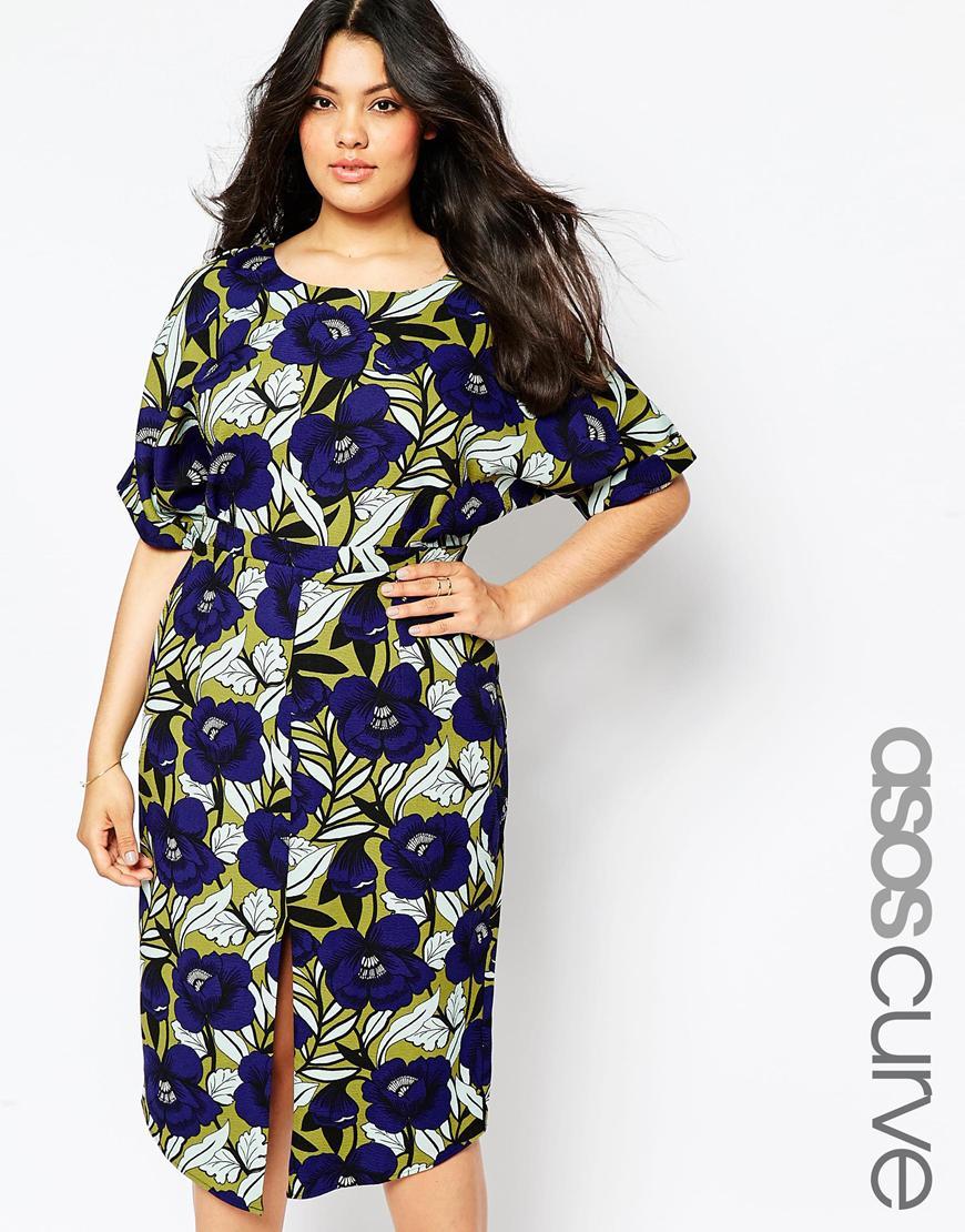 Модное платье 2016 для полных женщин - ASOS CURVE, цена 5 647,04 руб.