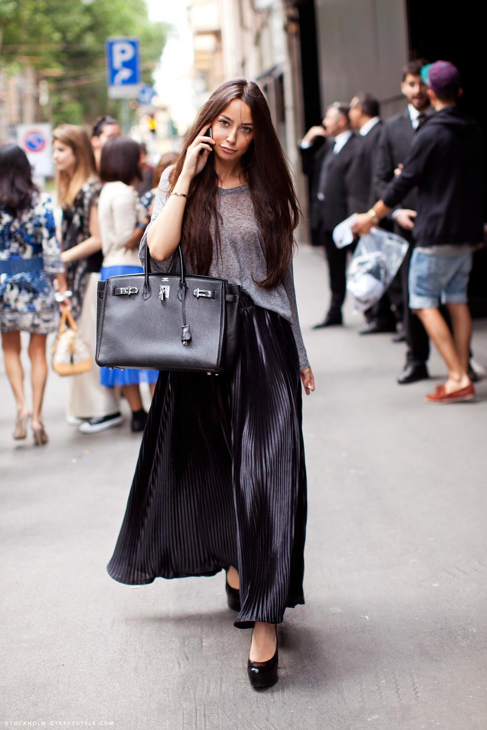 Длинная модная юбка 2016 - фото новинки и тренды сезона