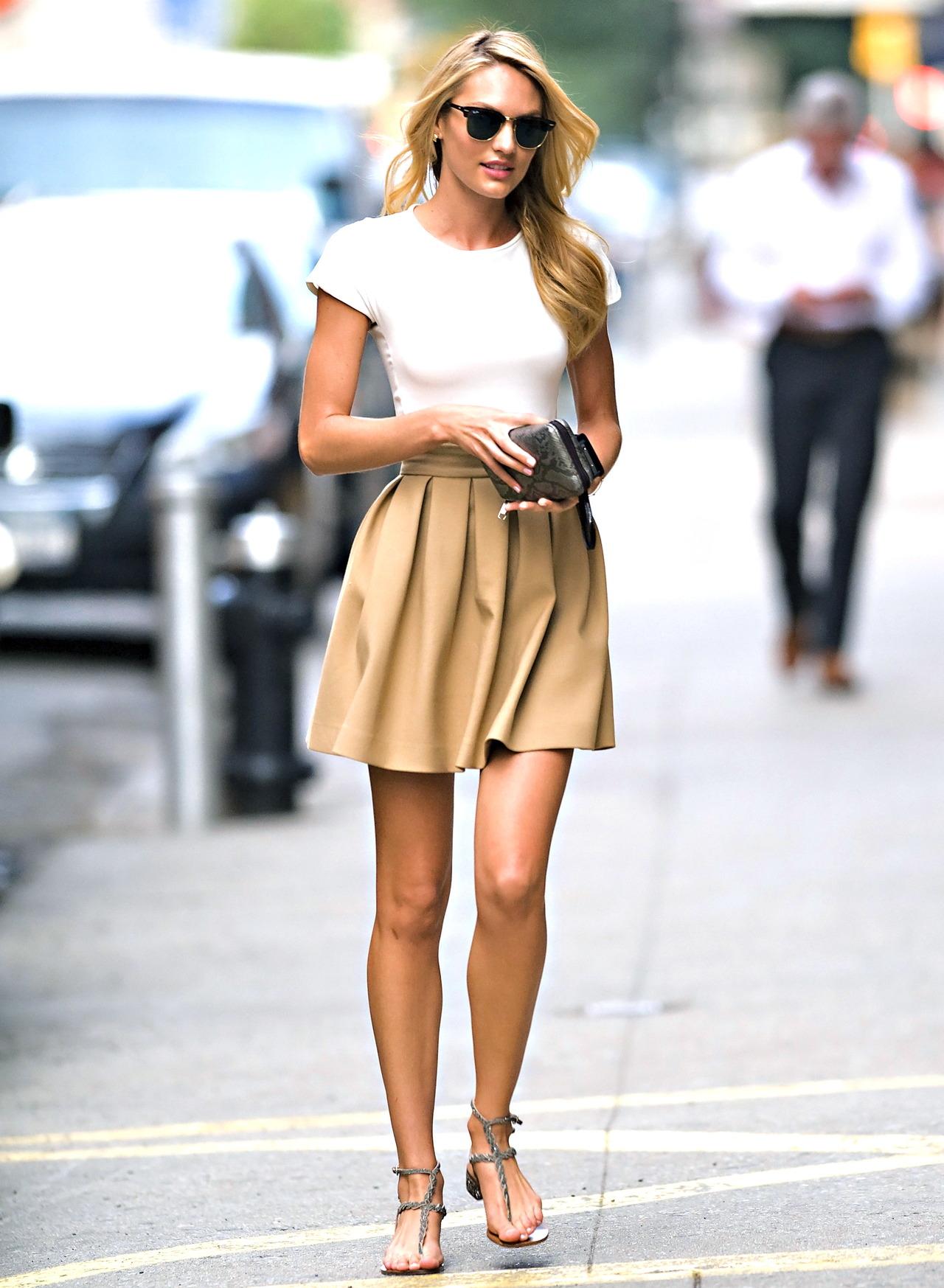 Модная в 2016 году юбка солнце - фото новинки и тренды сезона