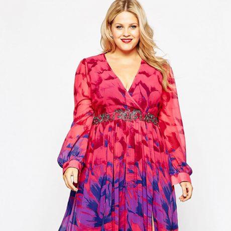 Модные платья 2016 для полных женщин