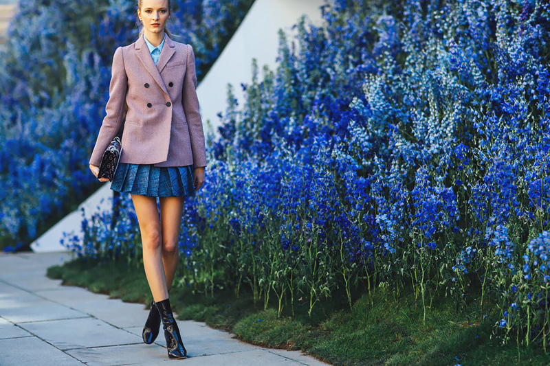 Тренды уличной моды Парижа весна-лето 2016