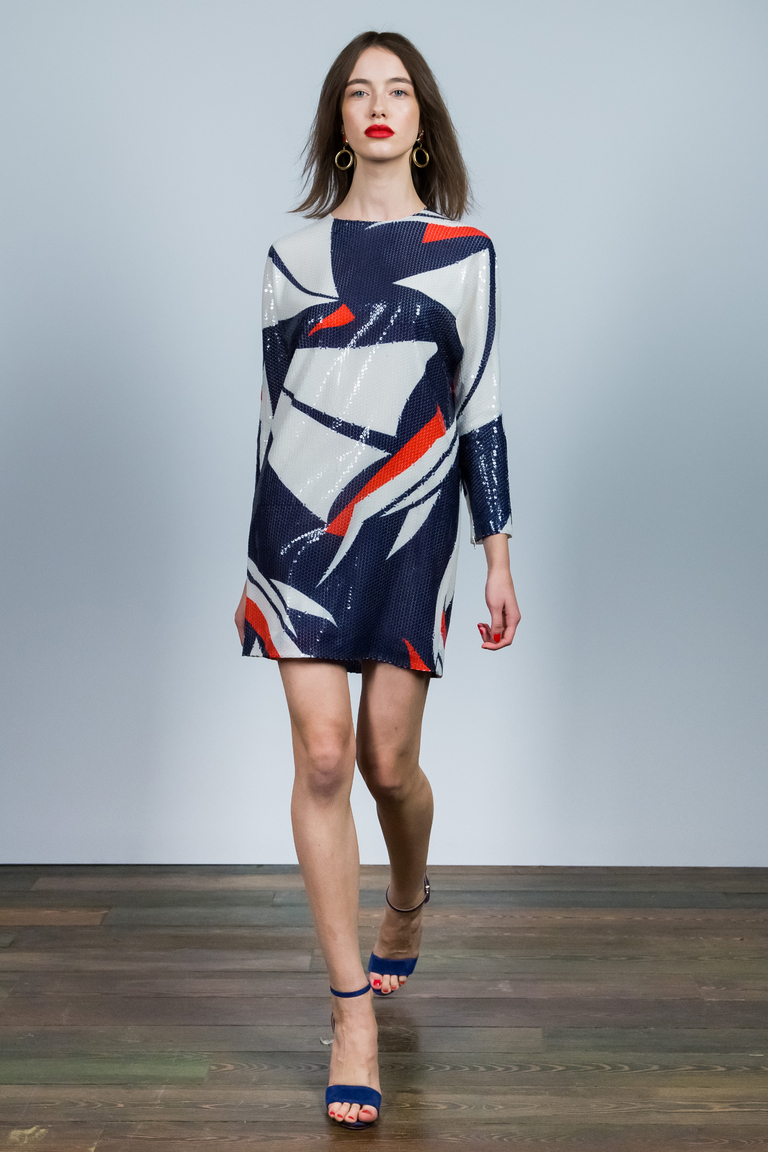 Модное короткое платье 2016 – фото новинка от Alexander Terekho