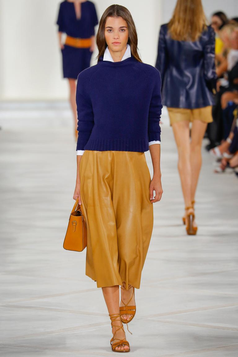 Синий модный свитер 2016 – фото новинка от Ralph Lauren
