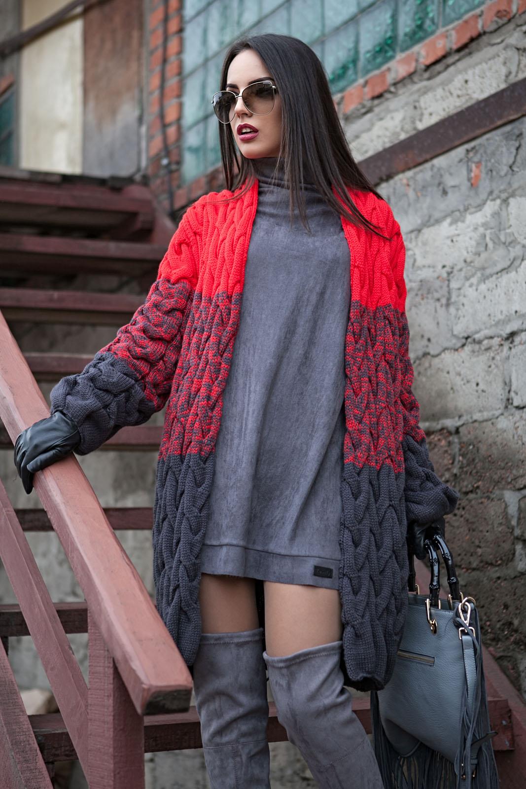 Фото модного кардигана Лало