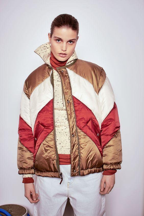 Цветная модная куртка 2016-2017