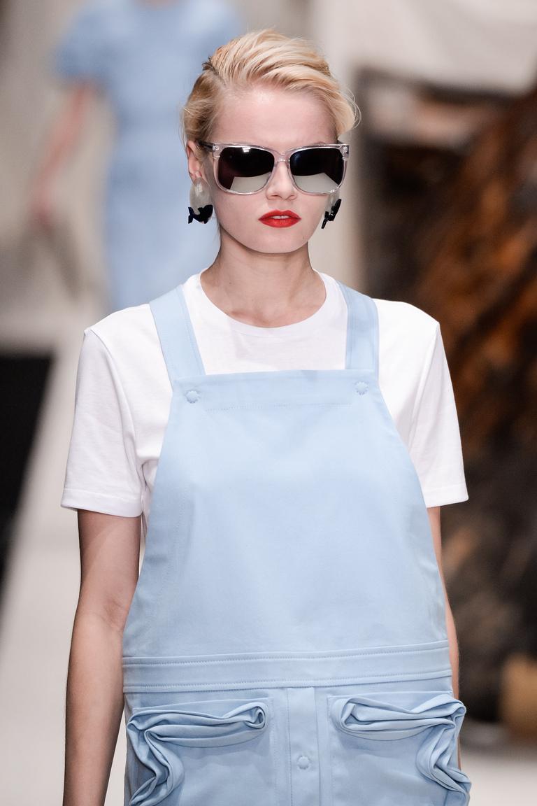 Тренды макияжа 2016 на показе коллекции Alena Akhmadullina