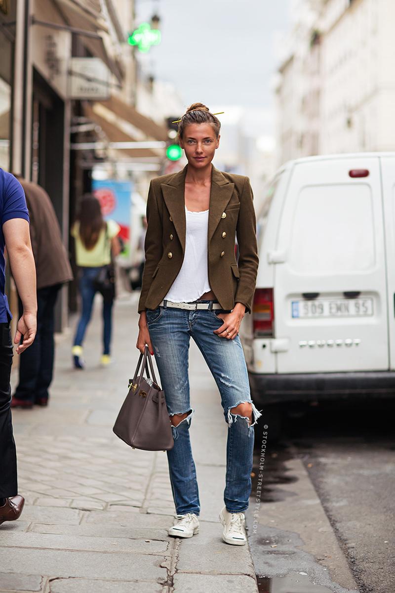 Конверсы с джинсами – фото новинки сезона