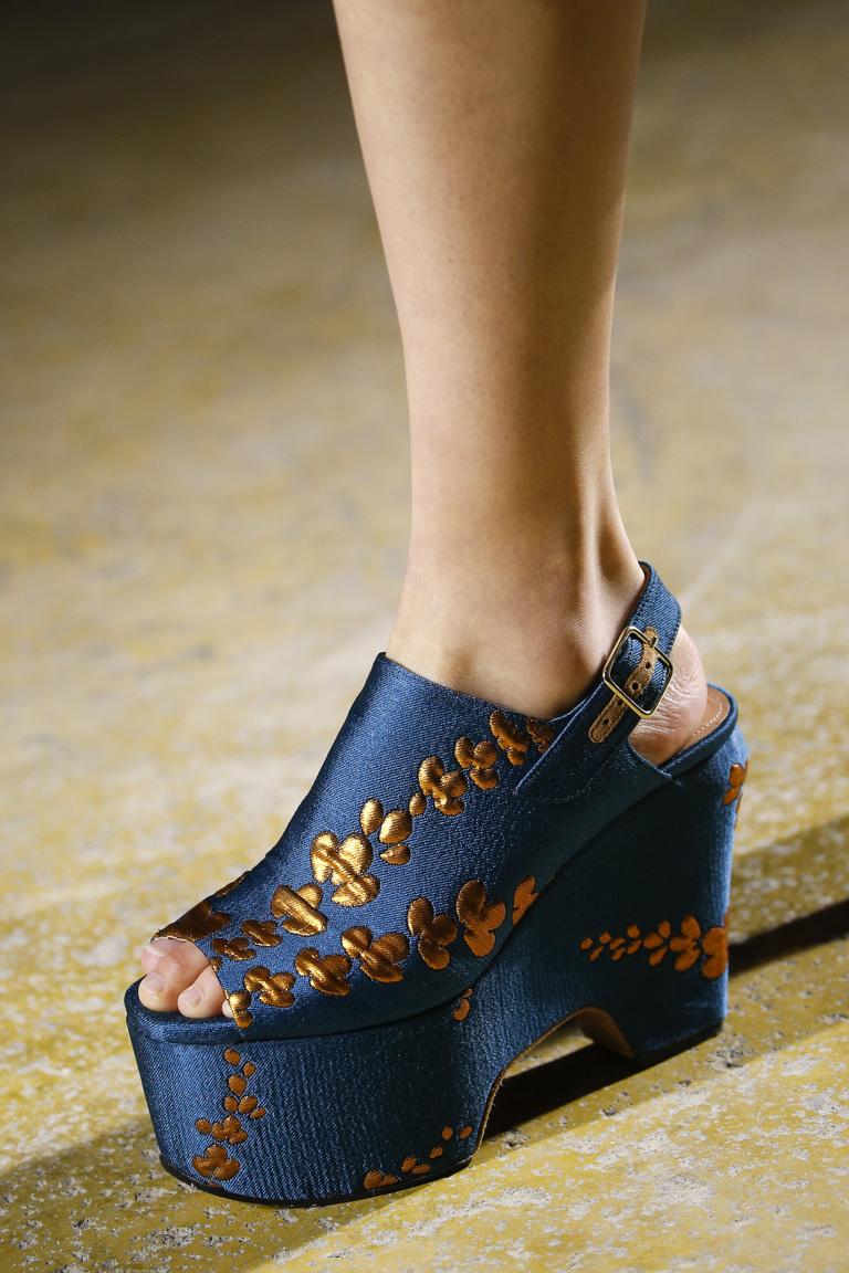 Модная обувь 2016 – фото новинка в коллекции Dries Van Noten