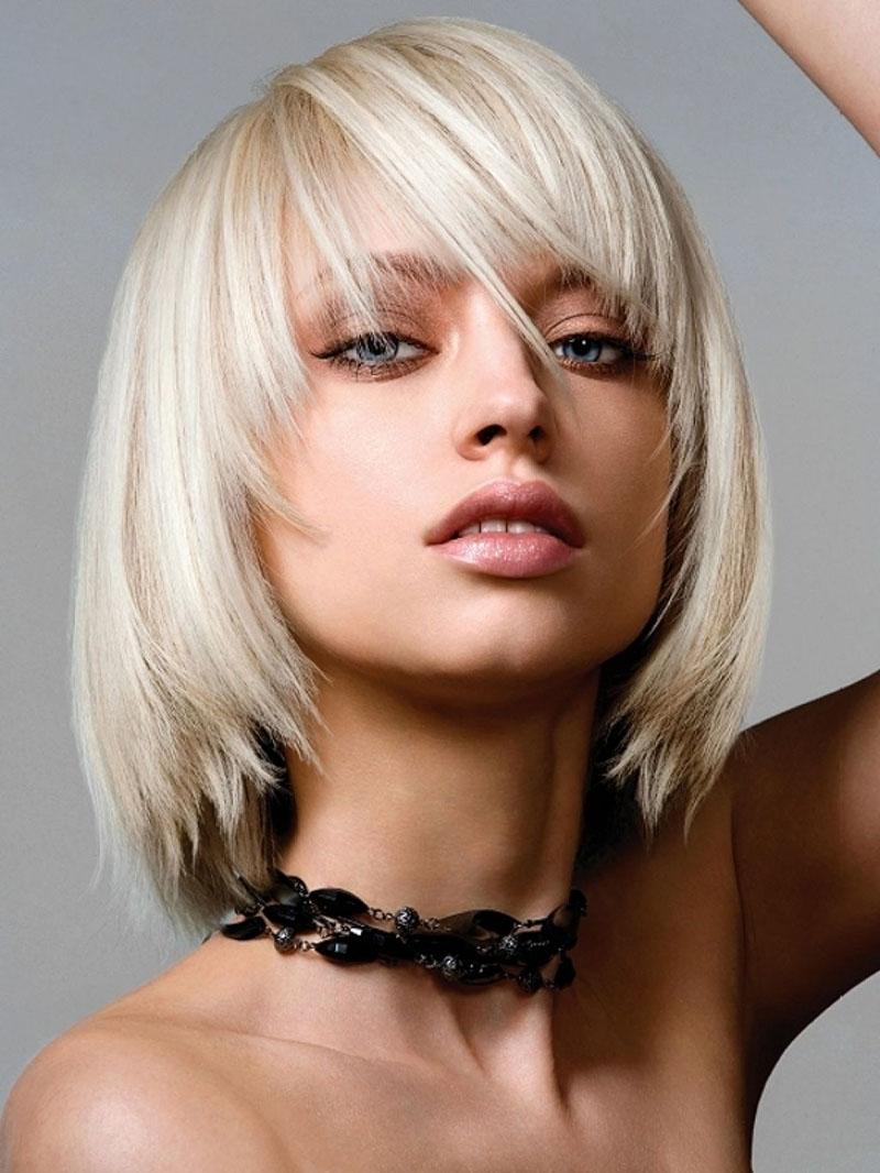 Модная стрижка на короткие волосы 2016 – градуированная стрижка