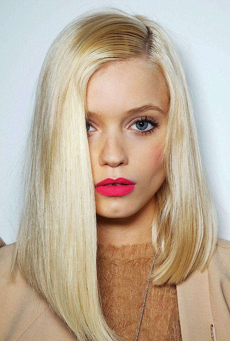 Модные прически этого года для блондинок фото