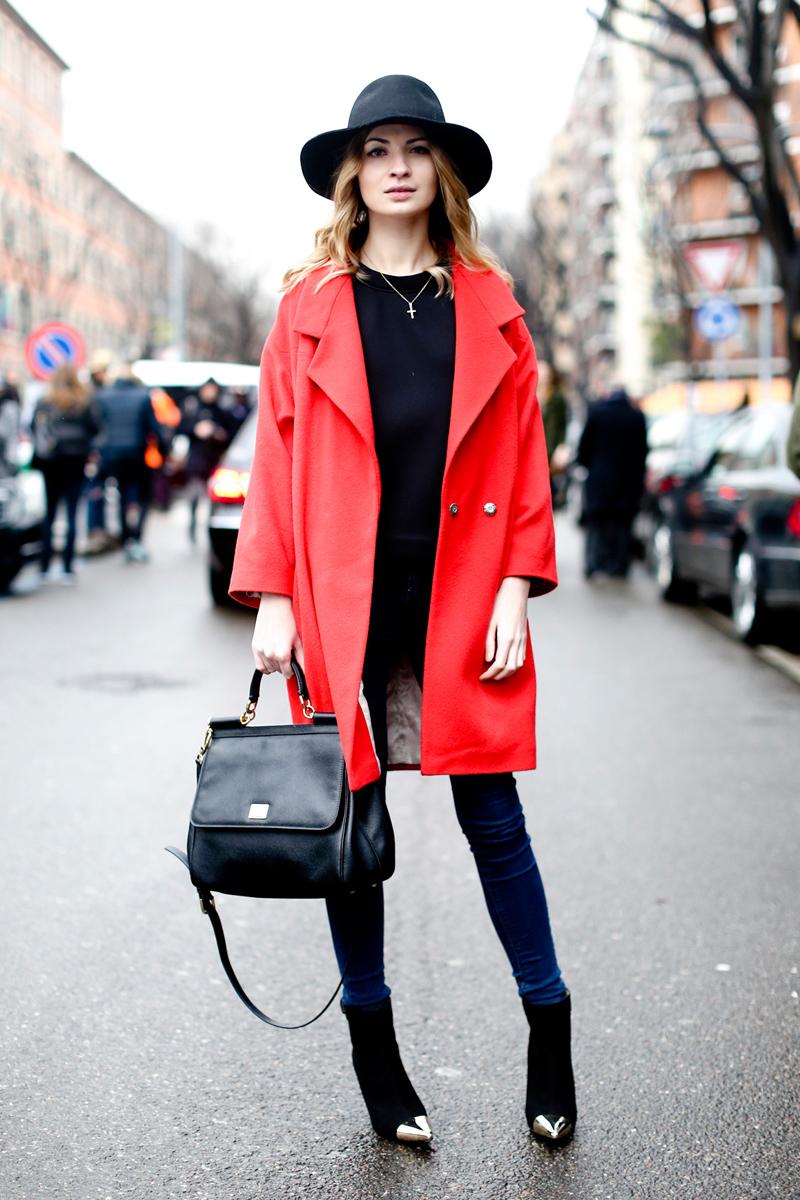 Фото короткое пальто