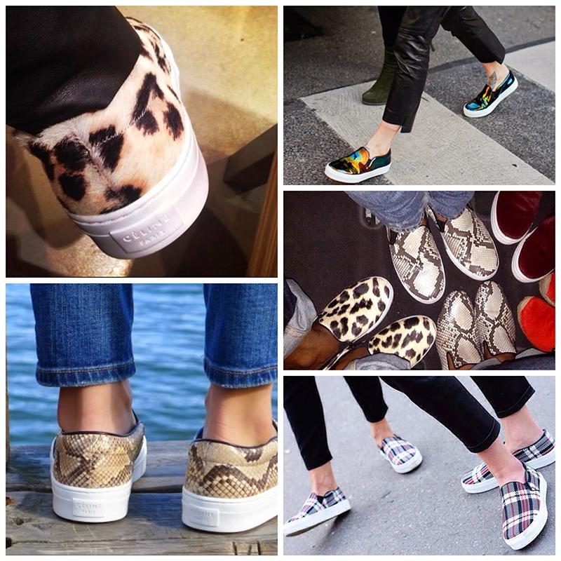 Новинки сезона: обувь слипоны