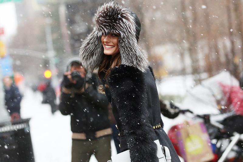 Фото новинка: меховые модные шапки