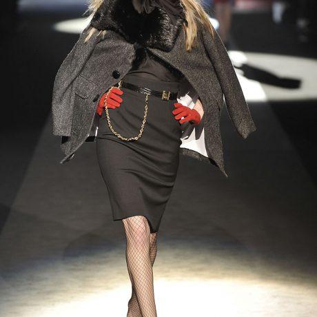 Меховое пальто: 35 модных моделей