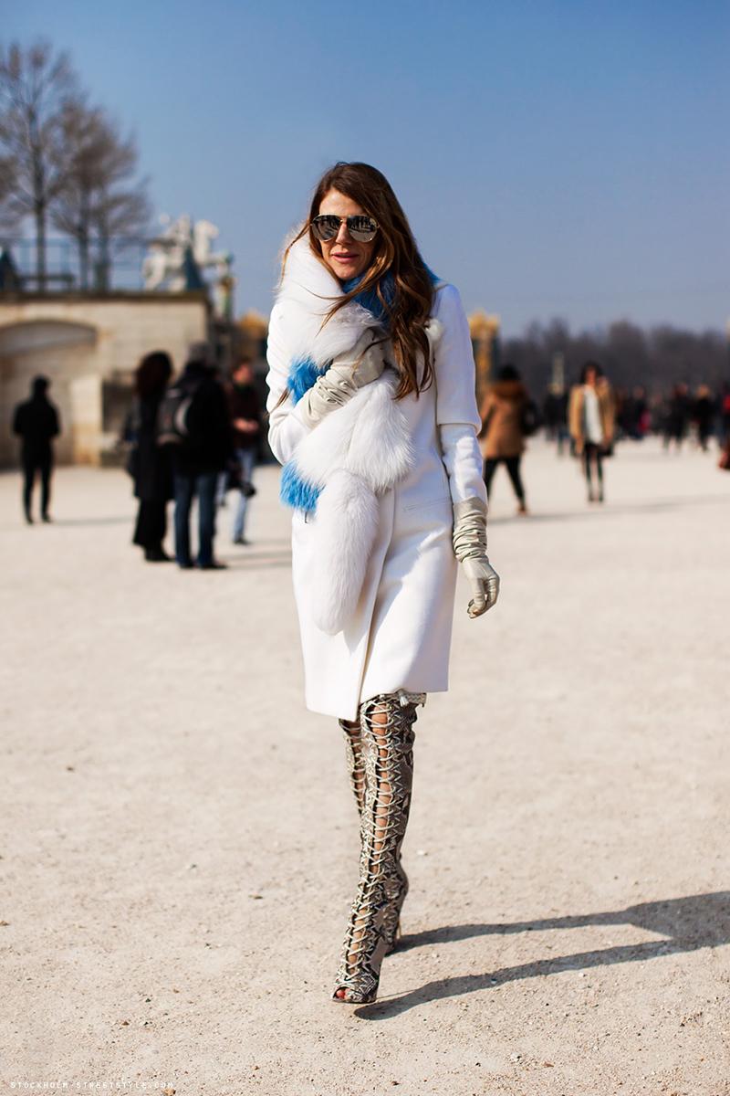 Фото новинки сезона меховое белое пальто