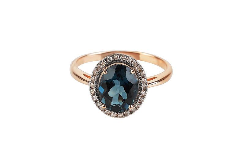Зеленый топаз кольцо драгоценный камень фото