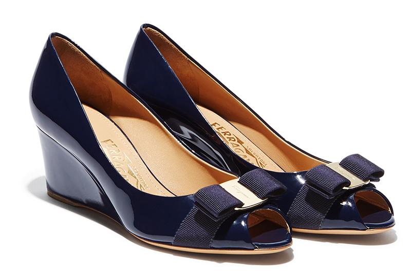 Фото модных туфель на платформе от Salvatore Ferragamo