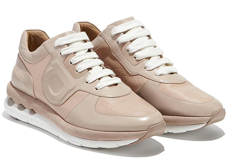Модные женские кроссовки - фото новинка от Salvatore Ferragamo