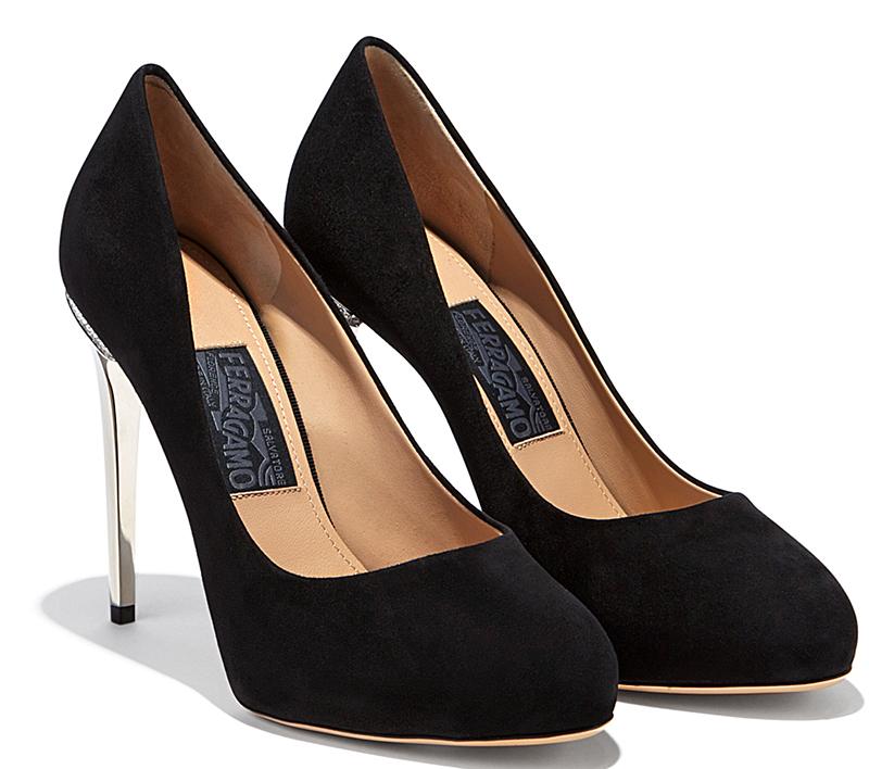Фото новинки: черные туфли лодочки