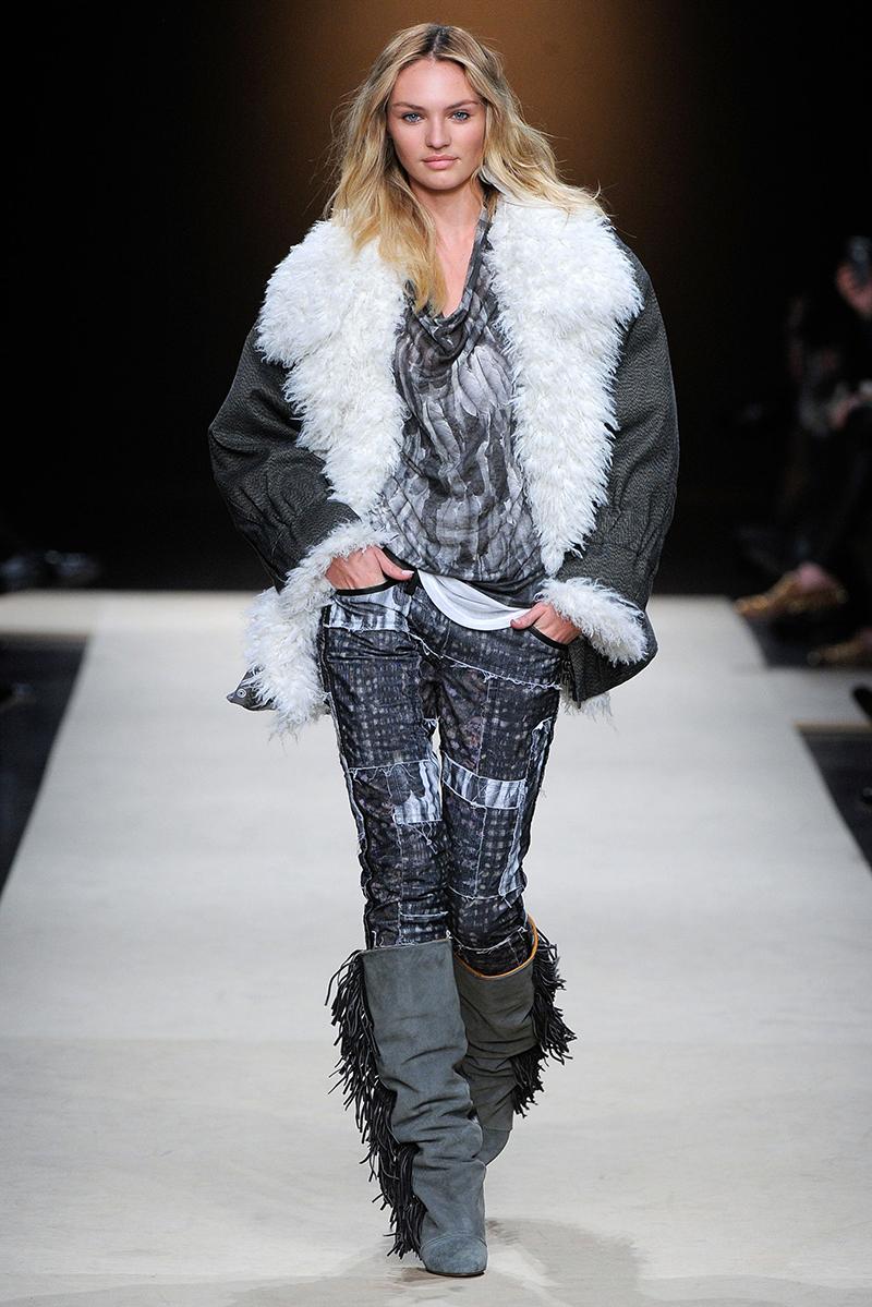 Куртка с мехом – фото новинки сезона