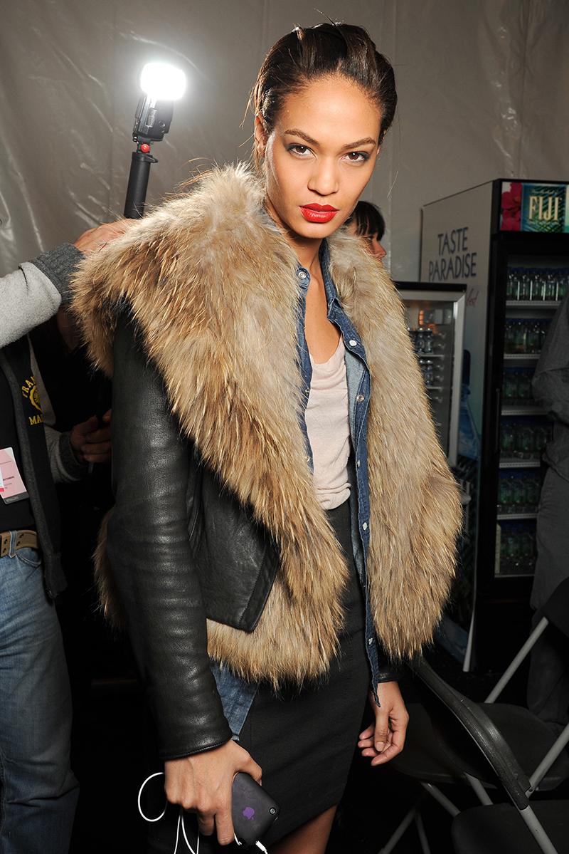 Модная куртка с мехом – фото новинки сезона