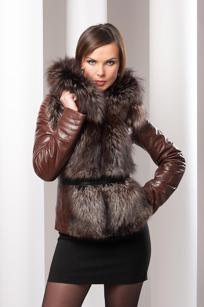 Модная куртка с мехом – фото новинки, с чем носить куртку