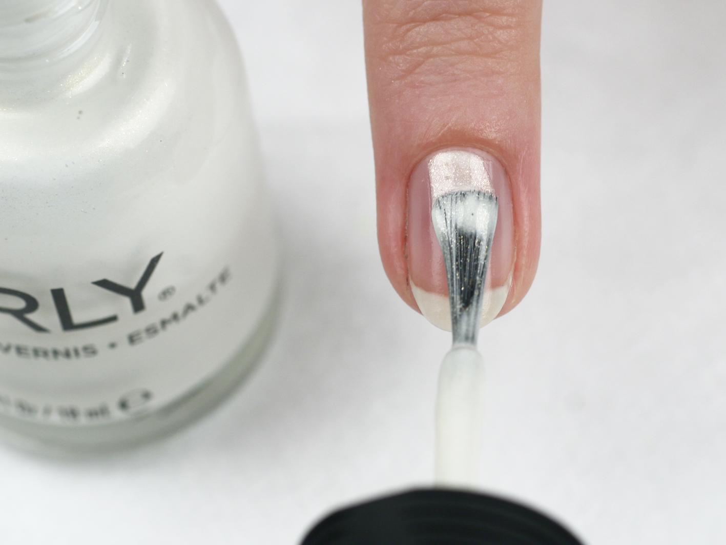 Мастер класс - зимний дизайн ногтей