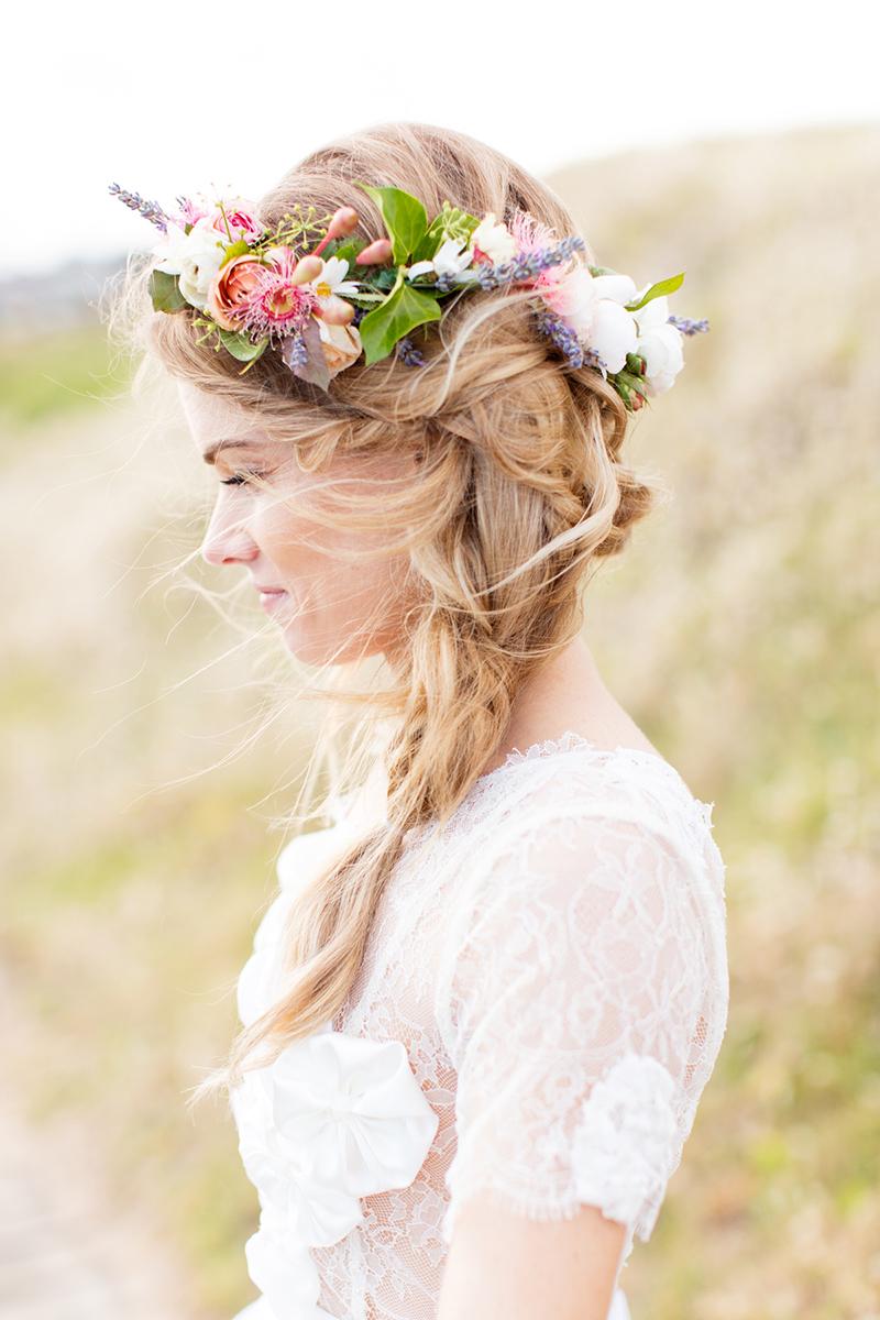 Модные прически 2016 с длинными волнистыми волосами