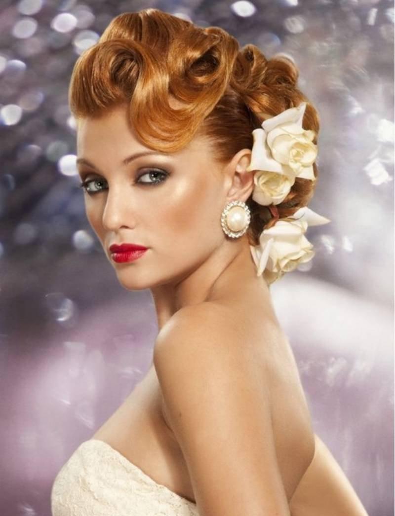 Модная прическа 2016 с волнистыми волосами – фото новинки сезона