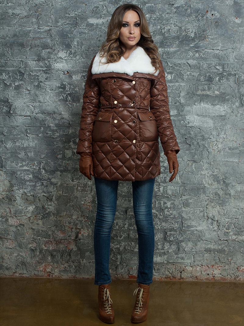 Фото новинки: модный женский пуховик