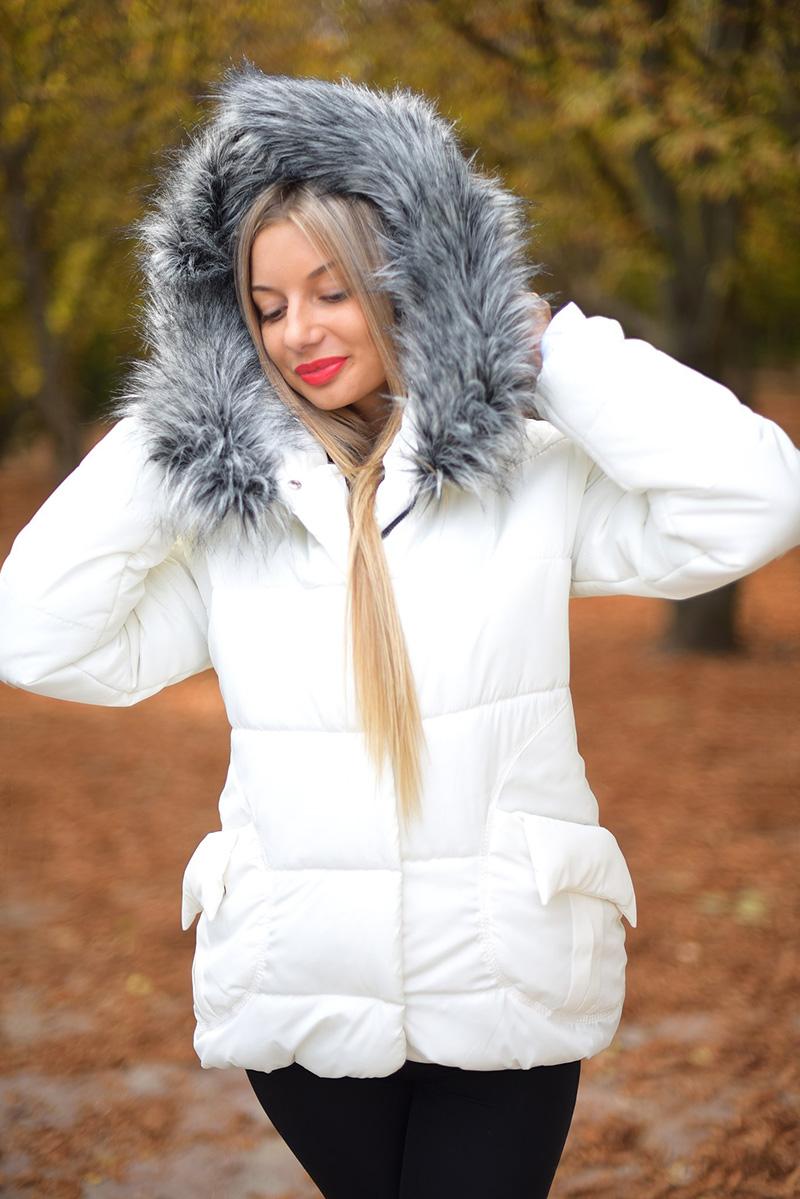 Фото модного женского пуховика