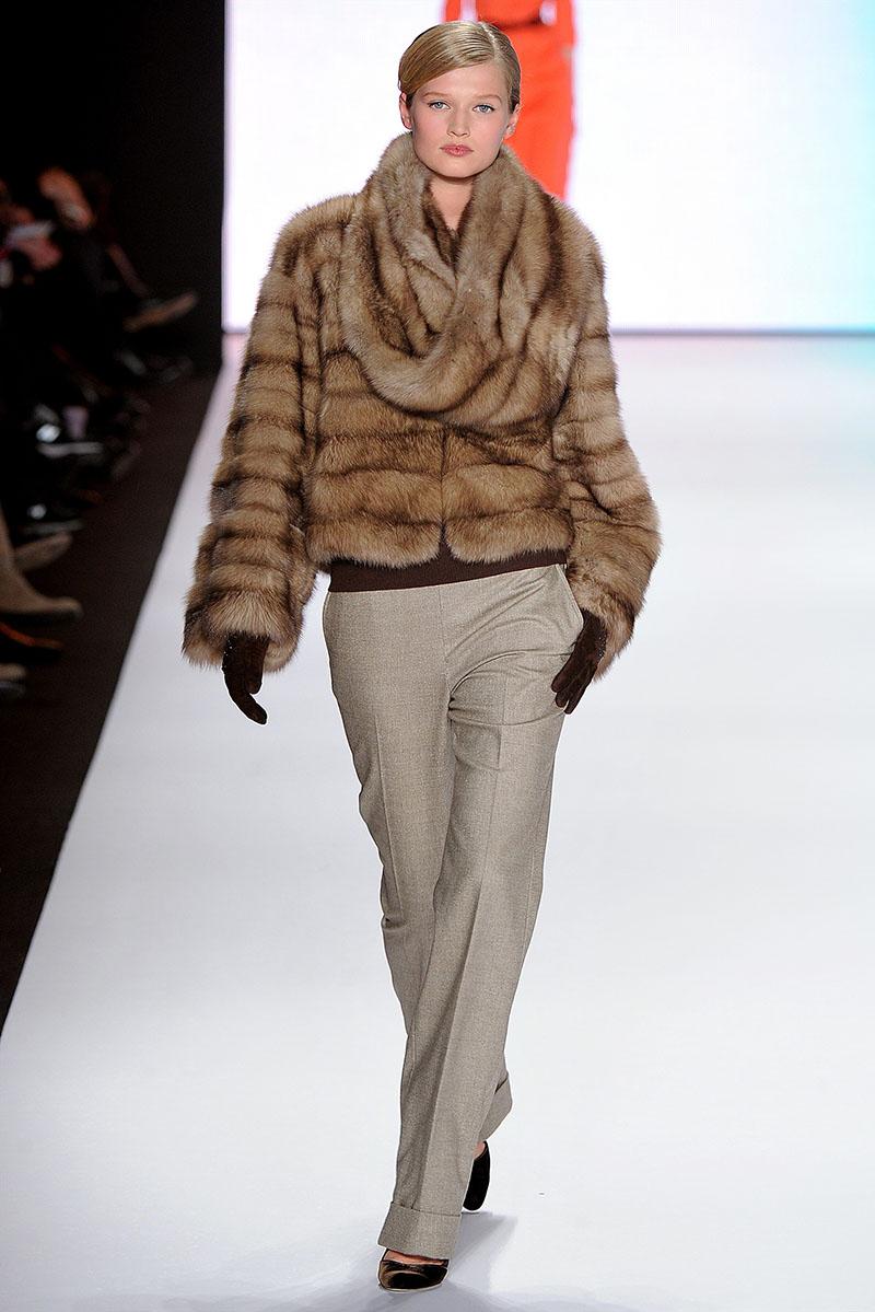 Модный меховой капор 2016 – фото новинка сезона