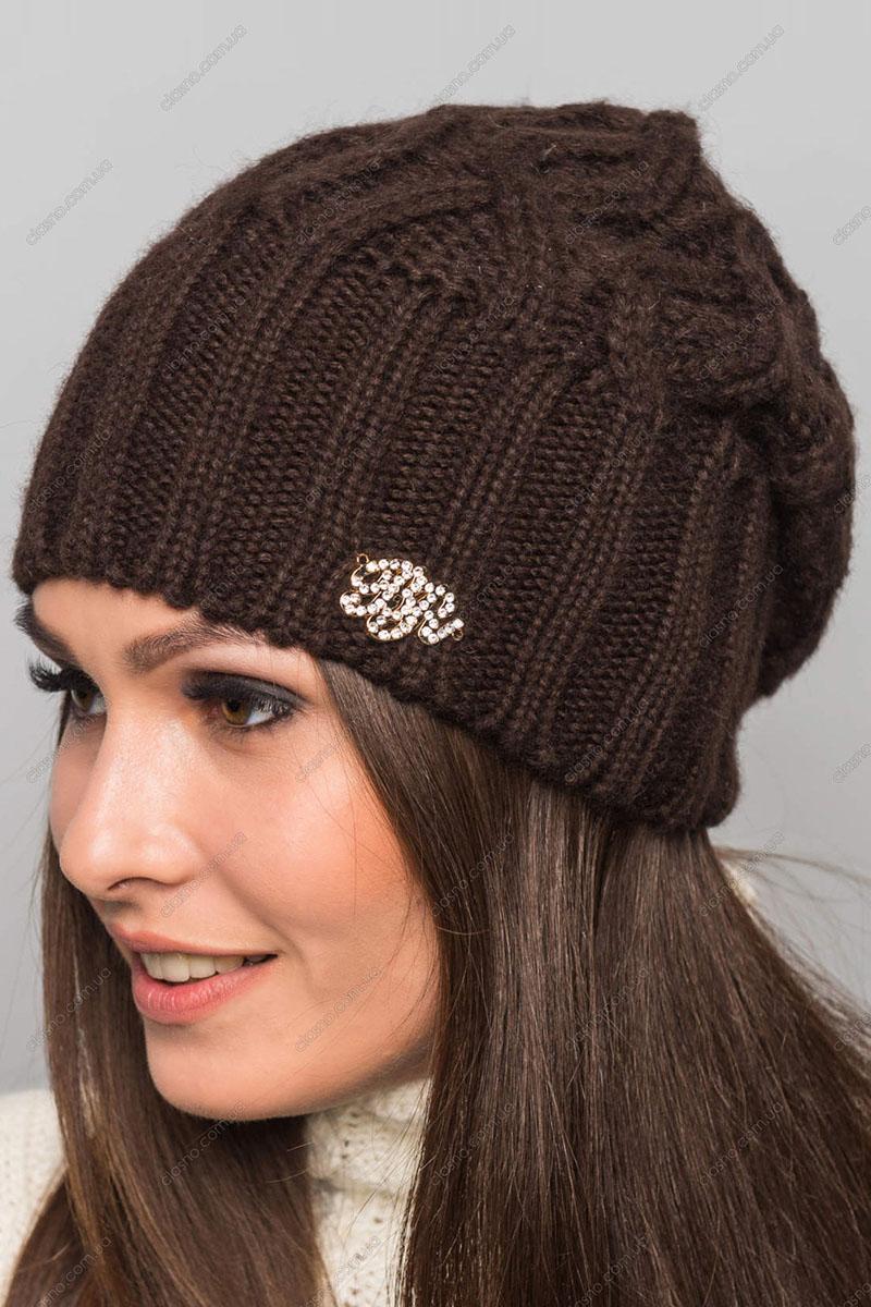 коричневые шапки фото