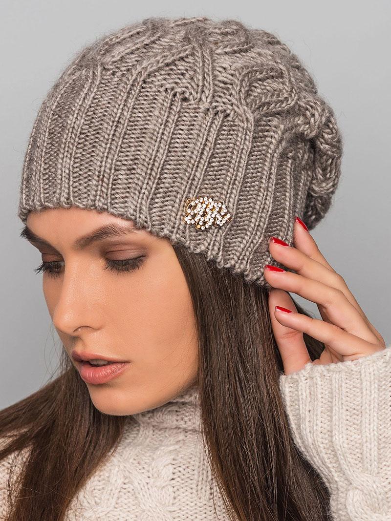 Вязание осень зима шапки