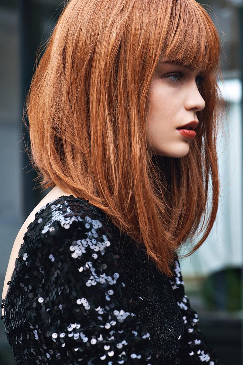 Фото новинка модной стрижки с длинными волосами 2016