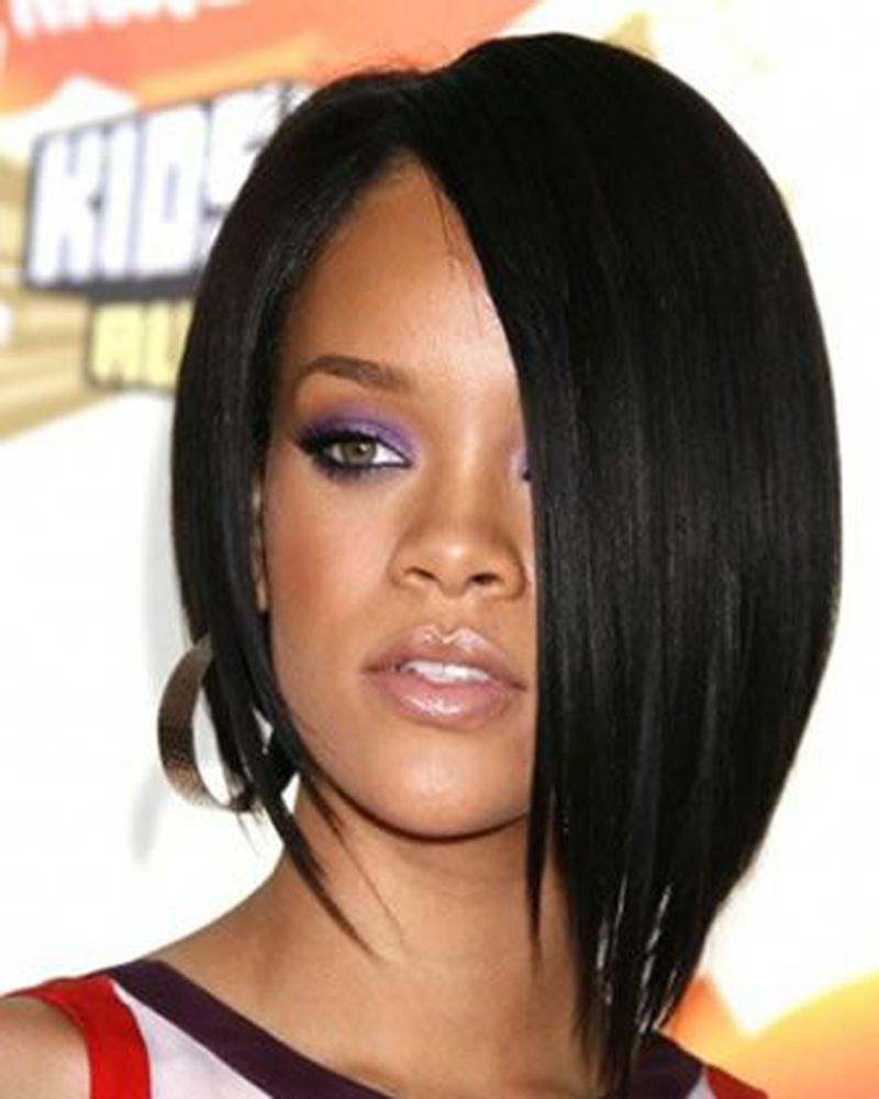 Асимметричные стрижка на средние волосы 2016 – фото новинка